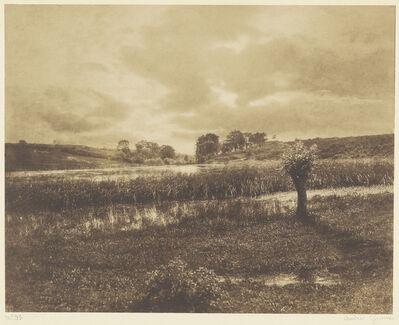 "André Giroux, 'The Ponds at Optevoz, Rh""ne', 1855"
