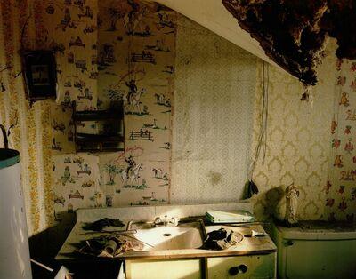Steve Fitch, 'Bathroom In A House In Model, Eastern Colorado, February 11', 1994