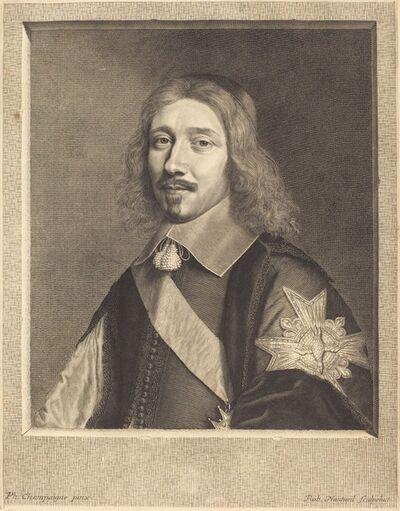 Robert Nanteuil after Philippe de Champaigne, 'Chancellor Michel Le Tellier', 1653
