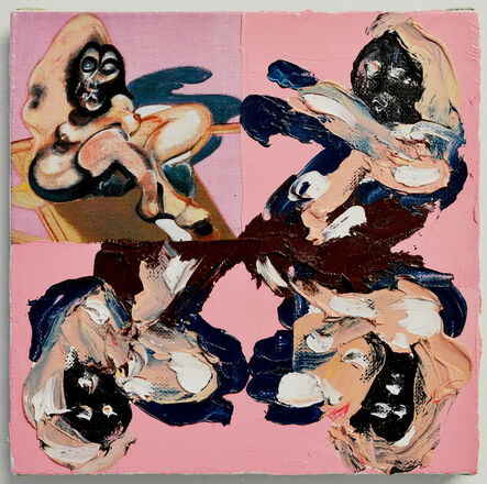Przemek Matecki, 'Francis Bacon, from the Small Paintings series (A047)', 2016-2018
