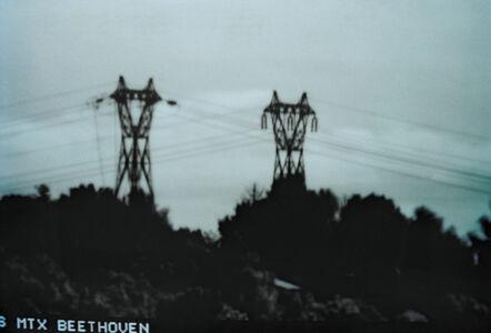 Lewis Baltz, 'Surveillance Video, Sophia Antipolis, France', 1989-1992