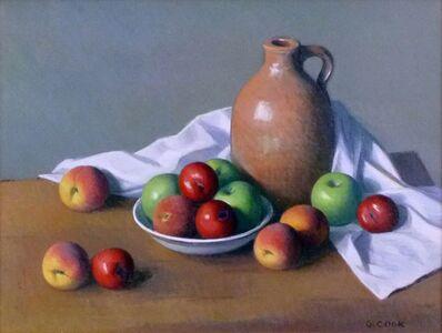 Gordon Cook, 'Apples and Clay Jug', ca. 1960