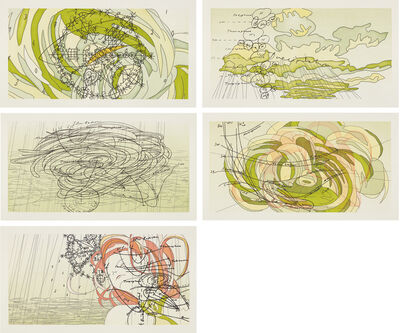 Matthew Ritchie, 'Sea State I-V', 2003