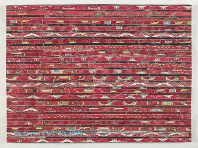 Adel Abdessemed, 'Cocorico painting, Na tum jano na hum', 2017-2020