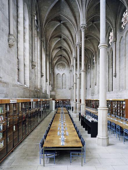 Candida Höfer, 'Bibliothèque du CNAM Paris II 2007', 2007
