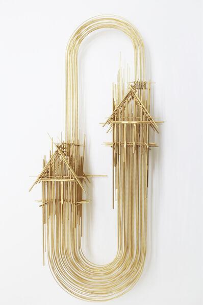 David Moreno (b.1978), 'Infinito Gold_1', 2021