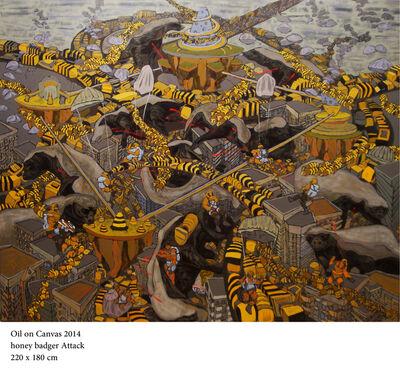 Ahmed Kassim, 'Honey Badger Attack', 2014