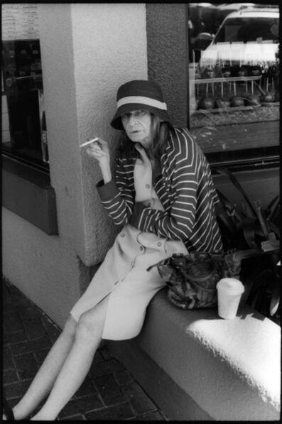 Ed Templeton, 'Old Woman Sitting, Smoking, HB', 2012