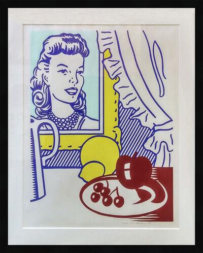 Roy Lichtenstein, 'STILL LIFE WITH PORTRAIT', 1974