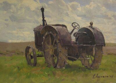 "Aleksandr Timofeevich Danilichev, 'Sketch ""Tractor""', 1948"