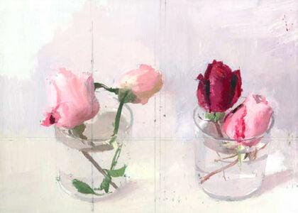 Antonio López García, 'Rosas de invierno II', 2016