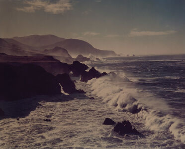 Cole Weston, 'Surf and Headlands, California', 1958