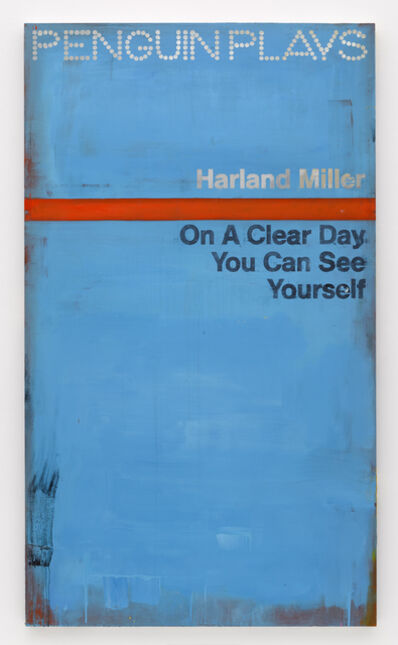 Harland Miller, 'On a Clear Day You Can See Yourself', 2015