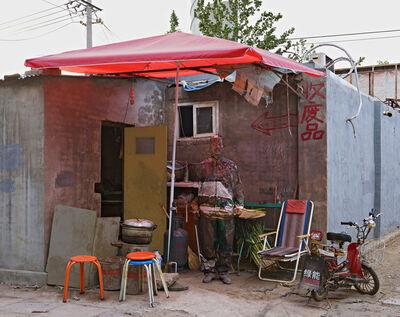 Liu Bolin, 'Eating House', 2011