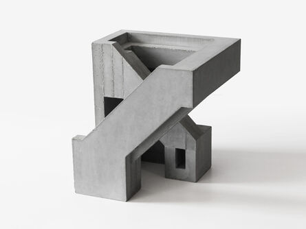 David Umemoto, 'Cubic Geometry TWELVE:5', 2019