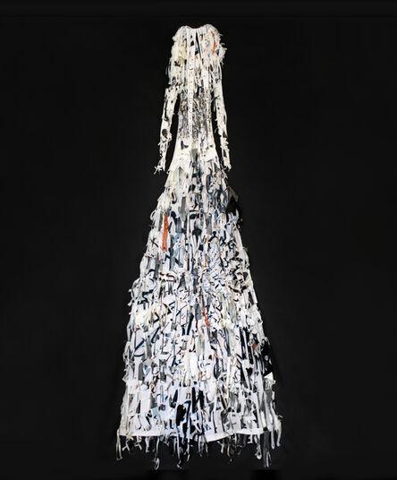 Lesley Dill, 'White Dress', 2008