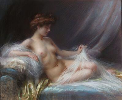 Delphin Enjolras, 'Reclining Female Nude', ca. 20