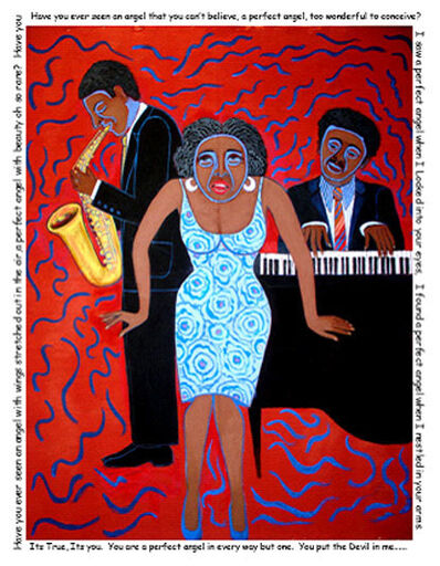 Faith Ringgold, 'You Put the Devil in Me', 2004