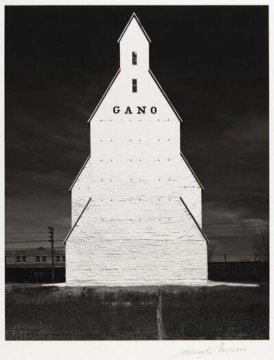 Wright Morris, 'Gano Grain Elevator, Western Kansas, 1940', 1940