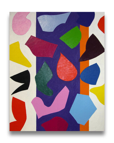 Dana Gordon, 'Aria in the Area (Abstract painting)', 2014