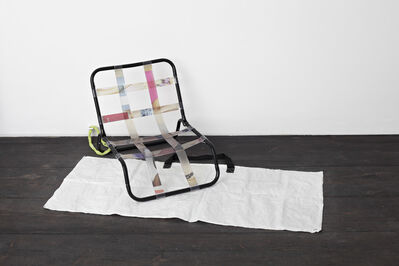 Aude Pariset, ''Hosted As Seen On Screen / Relags Travel Chair'', 2012