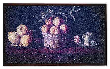 Vik Muniz, 'Still Life with Lemons, Oranges, and a Rose, after Francisco Zurbarán (from Pictures of Magazines)', 2004