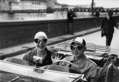 Ruth Orkin, 'Couple in MG, Florence, Italy', 1951