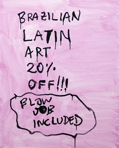 Alvaro Seixas, 'Pintura sem título (Latin Art)', 2017