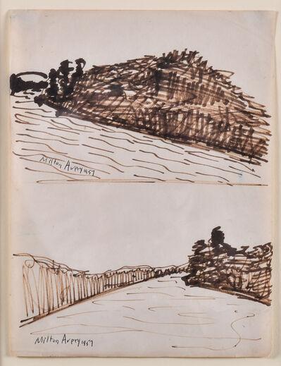 Milton Avery, 'Inlets', 1957