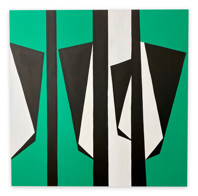 Ulla Pedersen, 'Cut-Up Canvas 2003 (Abstract painting)', 2020