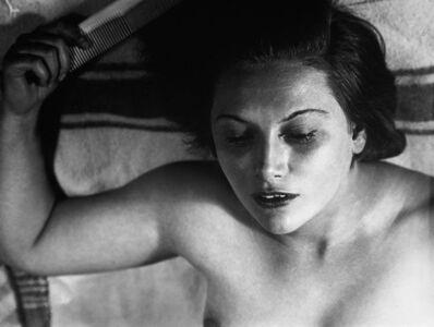 Florence Henri, 'Portrait Composition (Nude with Comb)', 1930