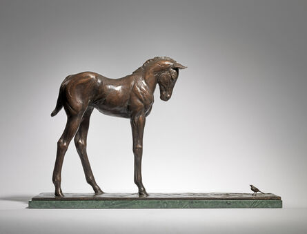 Charlie Langton, 'Foal and Wagtail', 2019