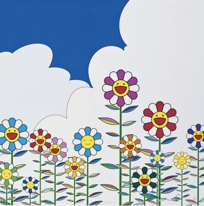 Takashi Murakami, 'Flowers 2', 2011