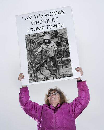Res, 'The Woman Who Build Trump Tower', 2017
