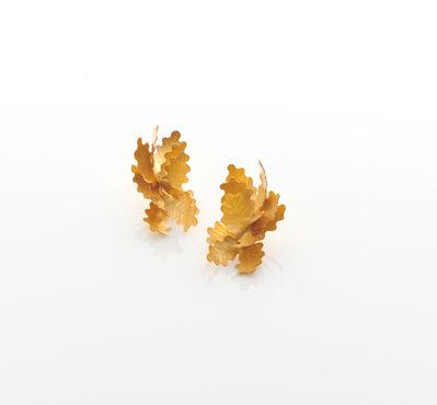 Jacqueline Ryan, 'Oak Leaf Earrings', 2019