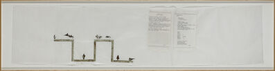 Nancy Spero, 'Codex Artaud XXXIIIa', 1972