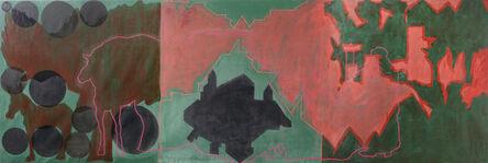 "Tamar Getter, 'Red Landscapes (from the ""Landscapes"" series, 1973-1983)', 1982"