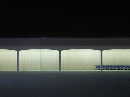 Josef Hoflehner, 'Blue Carts, Baton Rouge, Louisiana', 2014