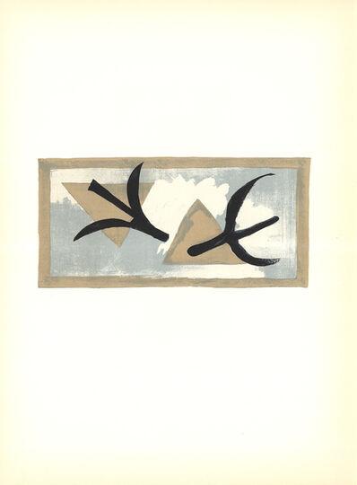 Georges Braque, 'En Vol', 1959