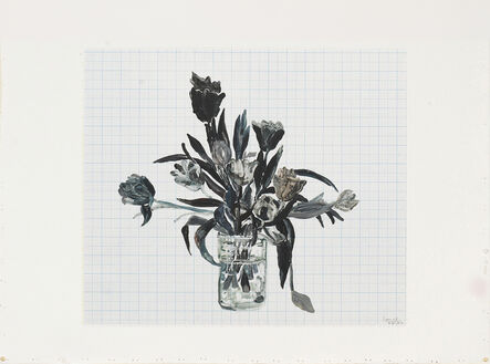 Santi Moix, 'Flowers for Watanabe 31', 2017