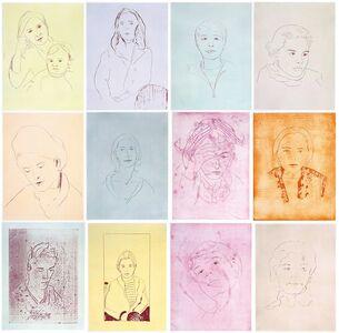 Thomas Schütte, '12 Portraits', 2009