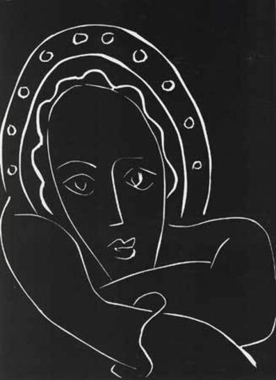 Henri Matisse, '...Le regard fixe, les joues en feu...', 1944