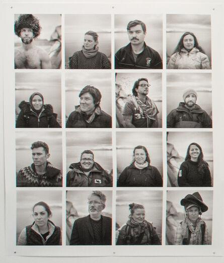 G.P. LeBourdais, 'Arctic Solstice Portraits', 2017