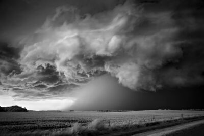 Mitch Dobrowner, 'Storm over Field', 2010
