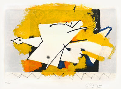 Georges Braque, 'L'oiseau Jaune (The Yellow Bird)', 1959
