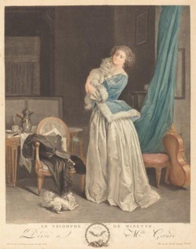 Geraud Vidal after Marguerite Gerard, 'Le triomphe de Minette'