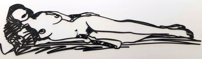 Tom Wesselmann, 'Monica Stretched Out on Robe', 1986-1990