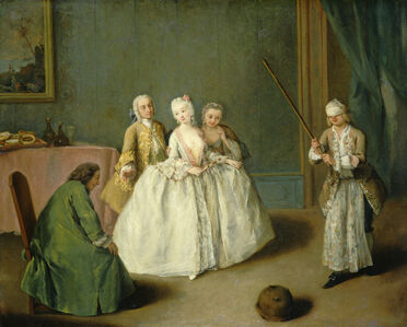 Pietro Longhi, 'The Game of the Cooking Pot', ca. 1744