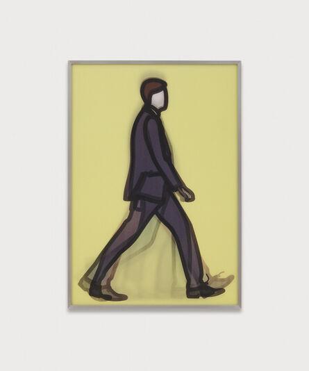 """Julian Opie, '""""Banker"""" from """"Walking in London 1."""" ', 2014"""
