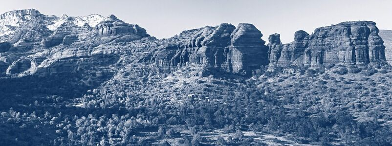Maxime Rossi, '  Blue Parrot Canyon', 2013